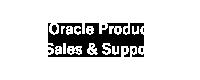 Oracle製品販売・サポート