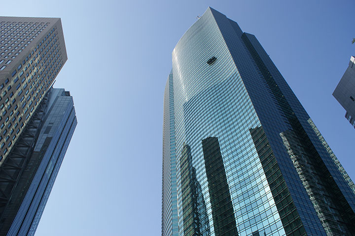 Shiodome City Center building